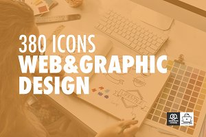 380 Icons - Web & Graphicdesign