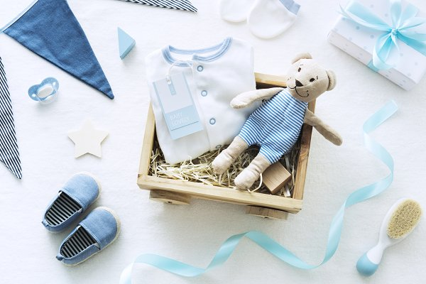 Baby shower blue theme