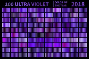 Ultra Violet Gradients .AI .GRD