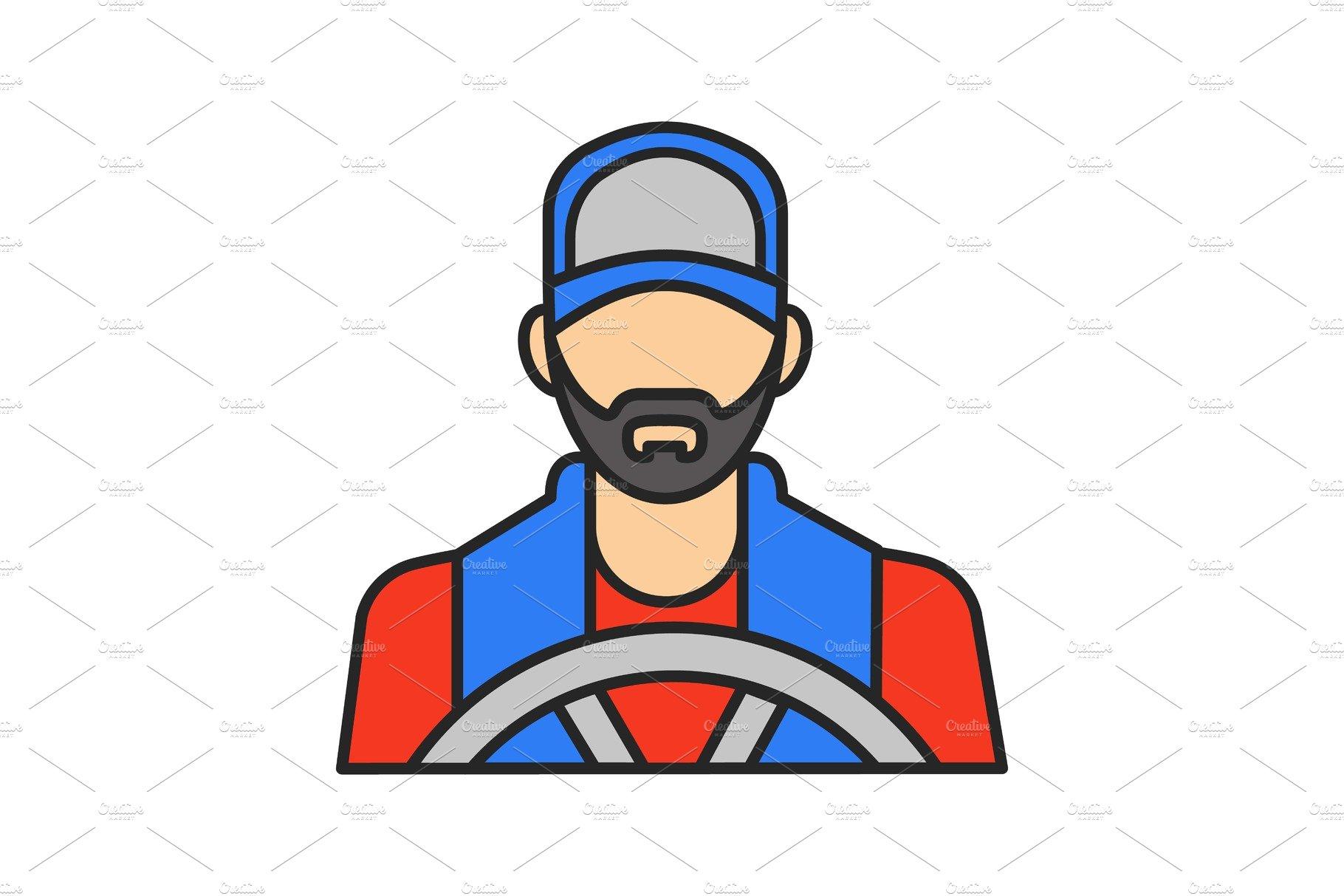 Driver Color Icon