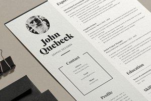 Resume John Q