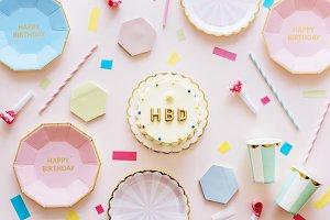 Birthday celebration concept