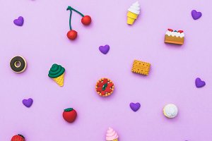 pattern of sweets