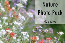 Nature Photo Pack - 40 Photos