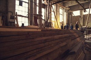 at the sawmill