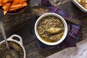 lentil casserole