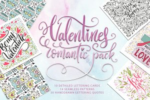 Valentines romantic pack