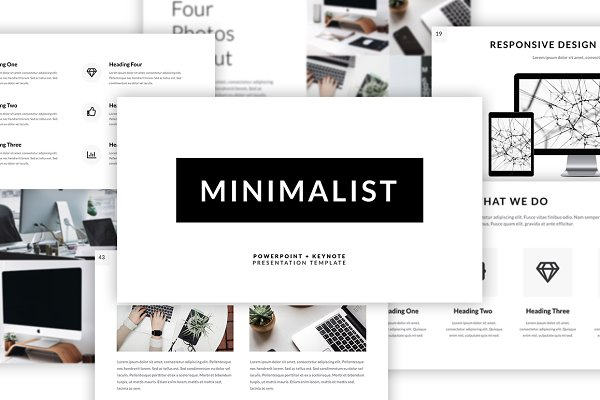 Presentation Templates - Minimalist Presentation Template