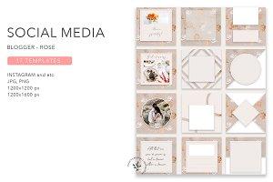 Blogger | Rose