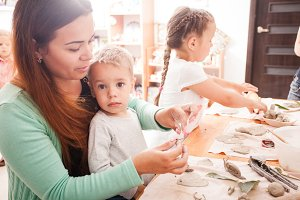 Early learning and daycare concept