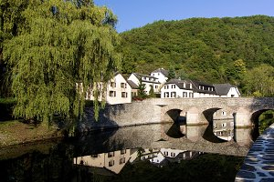 Esch sur Sure in Luxembourg