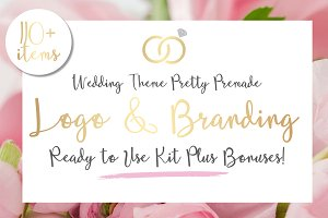 Wedding Logo & Branding Kit