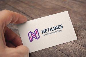 Letter N (Netilines) Logo
