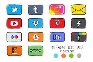 14 facebook timeline tab images