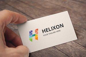 Letter H (Helixon) Logo