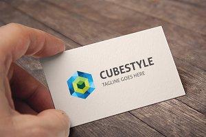 Cube Style Logo