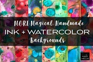 MORE Magical Handmade Ink+Watercolor