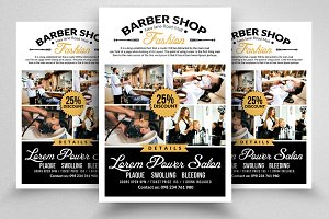 Professional Barber Shop Flyer