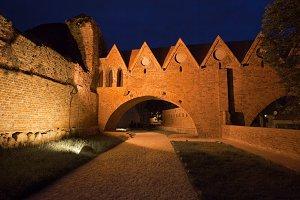 Teutonic Knights Castle In Torun