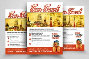 Tour Travel Company Promo Flyer
