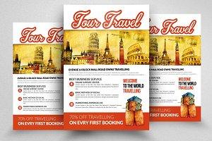 Tour Travel Company Promo Flyer
