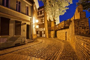 Old Town of Torun At Night