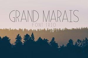 Grand Marais Font Trio