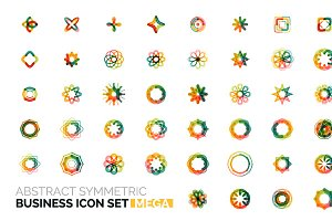 Mega business icons set 2