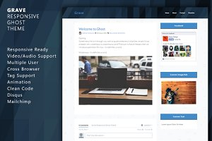 Grave - Responsive Ghost Theme