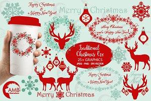 Christmas embellishment AMB-1117