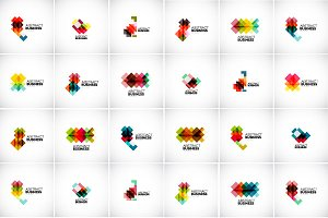 Abstract business designs collection