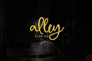 Alley - A Font Duo