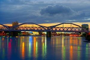 Bridge over the Neckar River