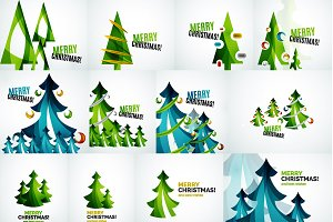 Christmas tree designs collection 1