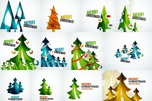 Christmas tree designs collection 3