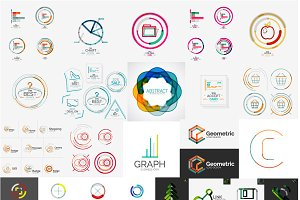 Company logo designs set 1