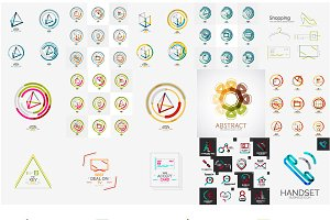 Company logo designs set 3