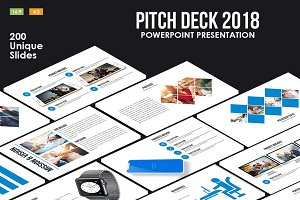 Pitch Deck 2018 Powerpoint Template