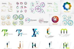 Company logo designs set 5