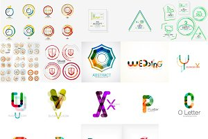 Company logo designs set 7