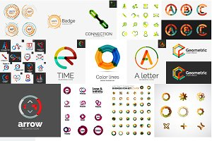 Company logo designs set 9