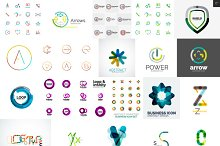 Company logo designs set 10