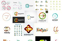 Company logo designs set 11