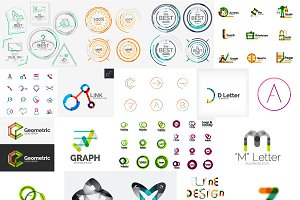 Company logo designs set 12