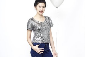 Asian beauty, Young woman