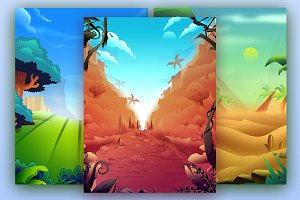 3# Game Backgrounds