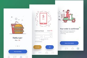 Food App Design+concept