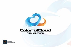 Colorful Cloud - Logo Template