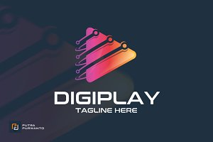 Digiplay - Logo Template