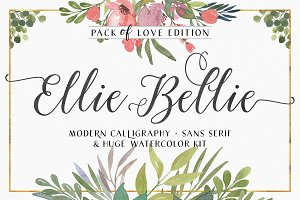 Ellie Bellie + Watercolor Kit